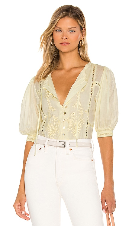Brielle Embroidered Top Tularosa $168