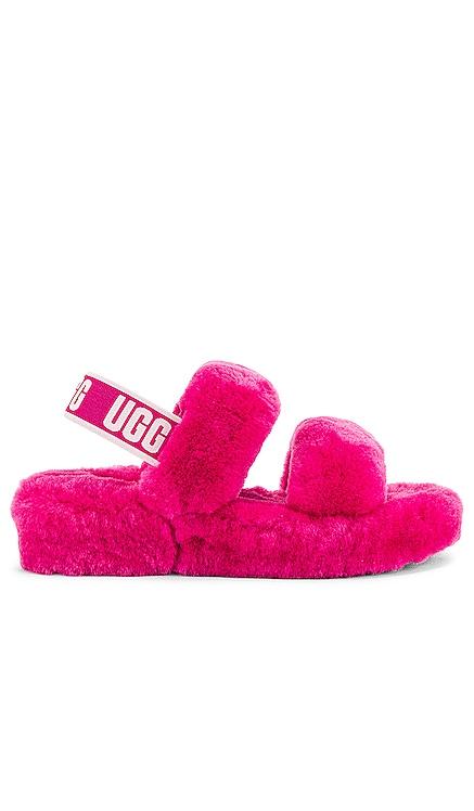 Oh Yeah Fur Sandal UGG $100 NEW