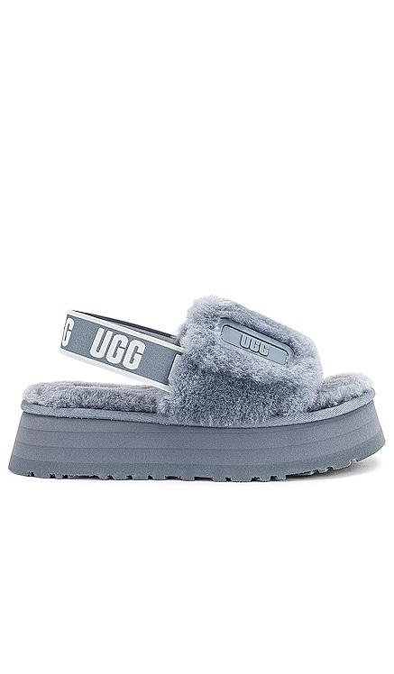 Disco Fur Sandal UGG $100 NEW