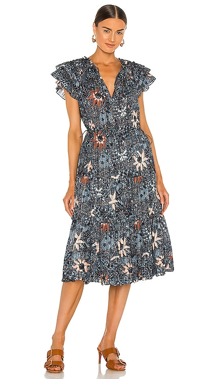 Rema Dress Ulla Johnson $395 NEW