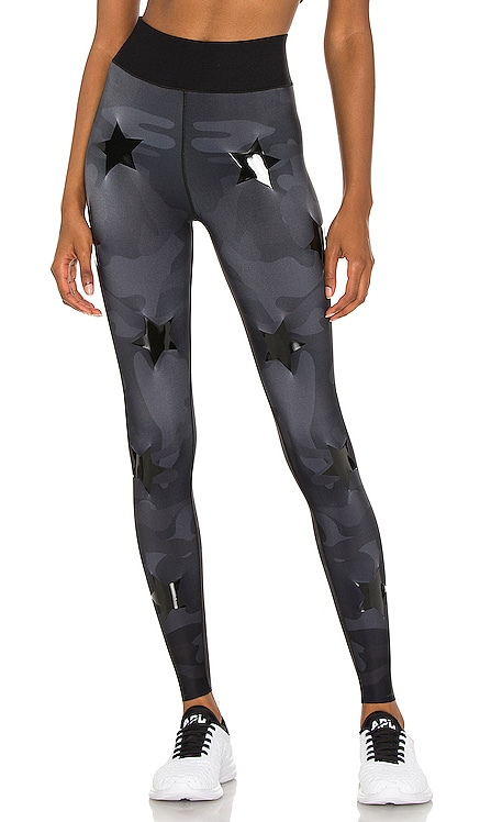 Ultra High Silk Camo Knockout Legging ultracor $198 NEW