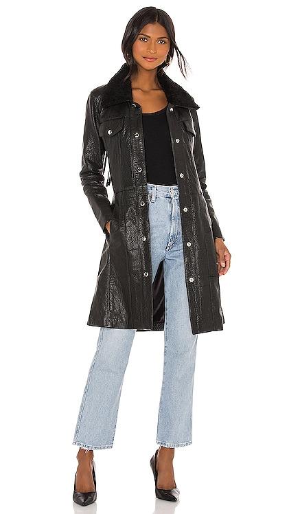 Thunderbird Shearling Coat Understated Leather $647