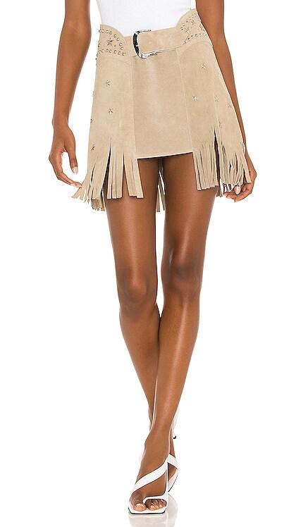X REVOLVE Paris Texas Full Skirt Understated Leather $242 BEST SELLER