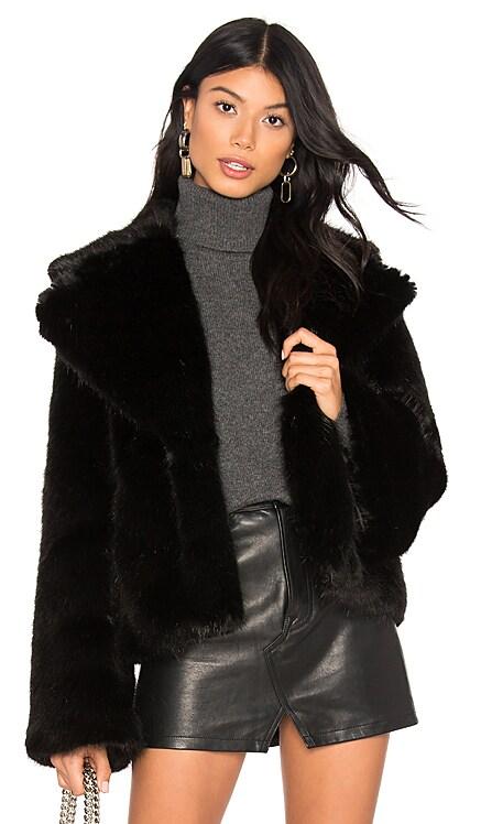 Madam Butterfly Faux Fur Jacket Unreal Fur $339 BEST SELLER
