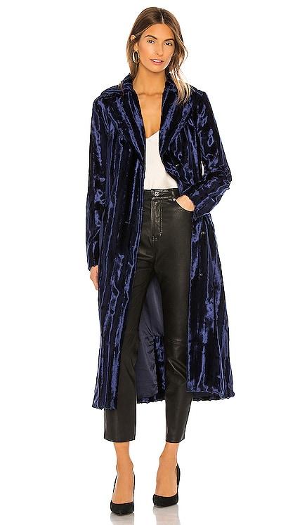 Velvet Underground Coat Unreal Fur $162