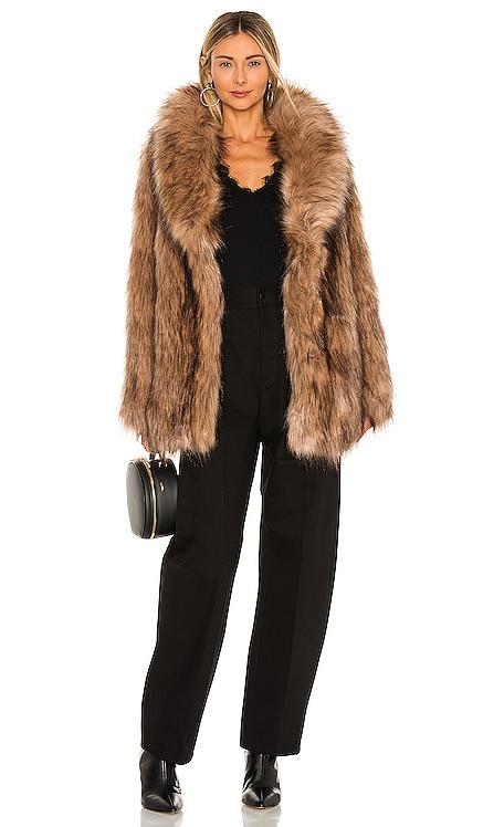 Fascination Faux Fur Jacket Unreal Fur $489 NEW