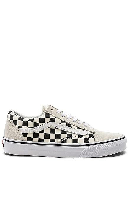 Checkerboard Old Skool Vans $60