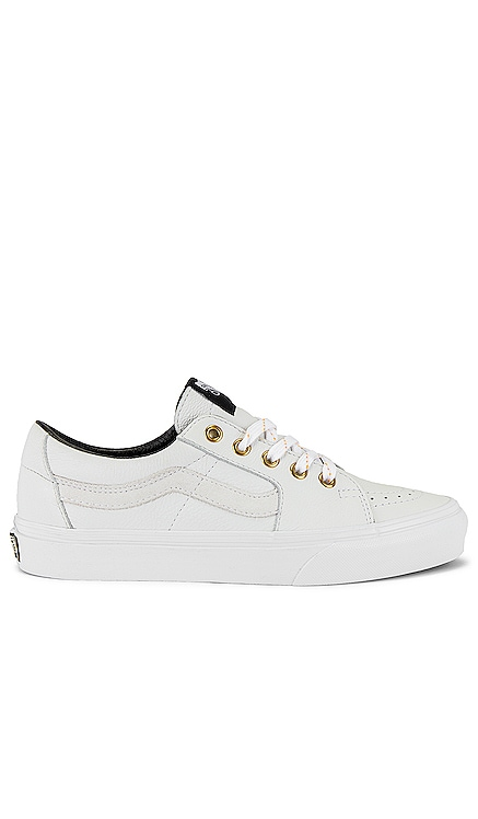 Sk8-Low Leather Vans $70 NEW