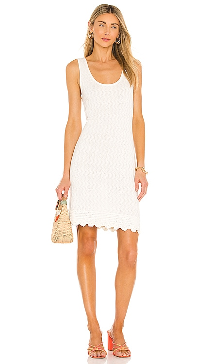 Floral Crochet Dress Victor Glemaud $385 NEW