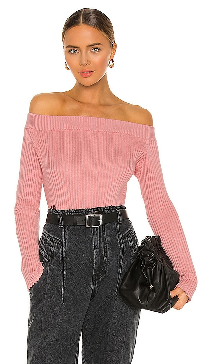 X REVOLVE Off Shoulder Sweater Victor Glemaud $320
