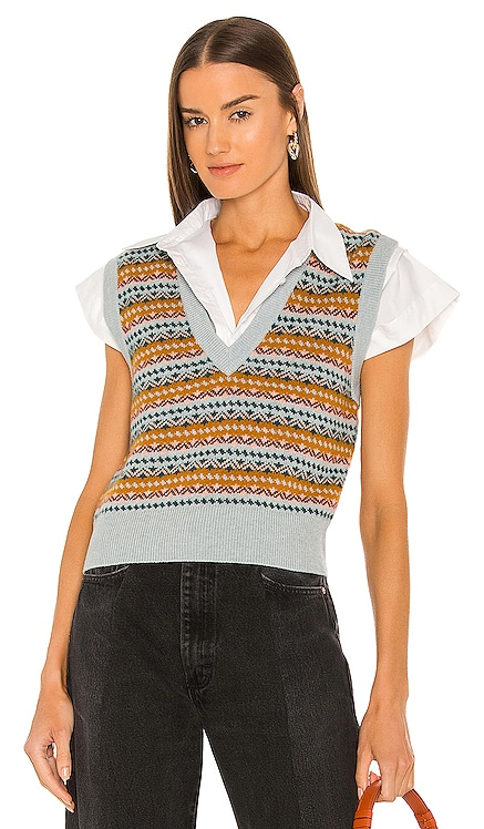 Helenika Sweater Vest Veronica Beard $295
