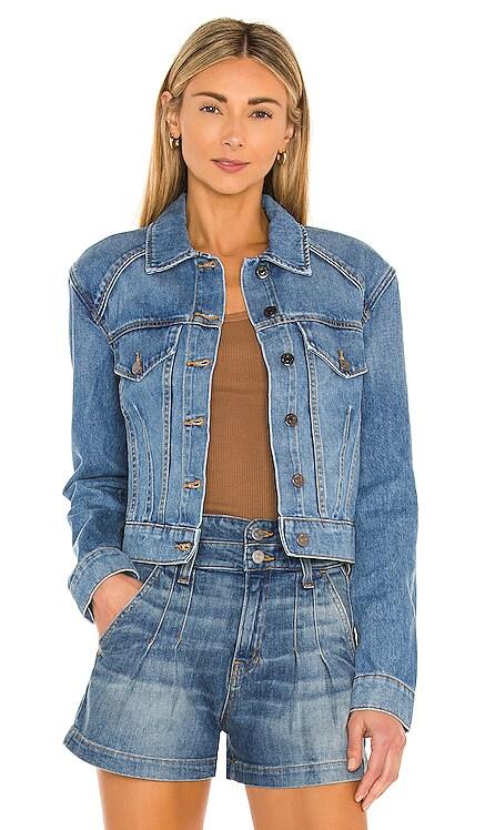 Dottie Strong Shoulder Jacket Veronica Beard $279