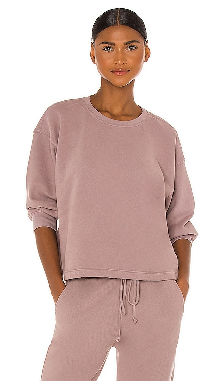 Sarah Sweatshirt Velvet by Graham & Spencer $128 NEW