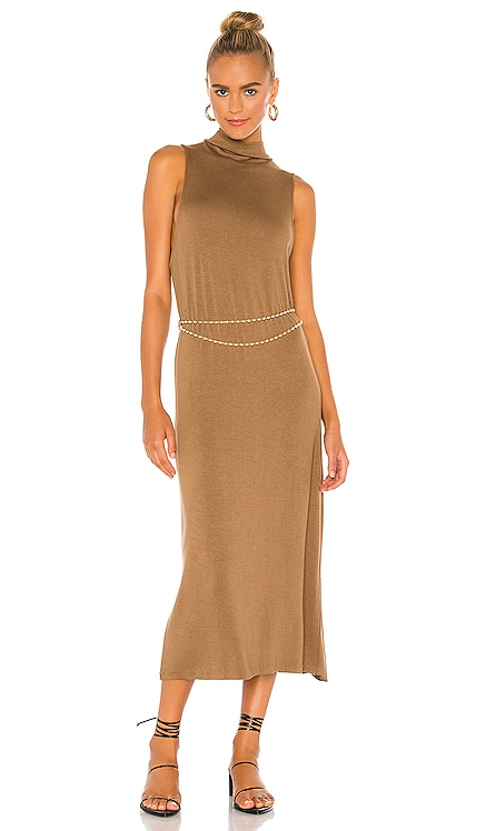 Sleeveless Mock Neck Dress Vince $225