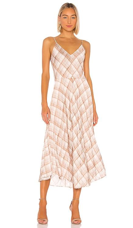 Hazy Plaid Cami Dress Vince $345