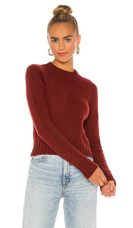 Shrunken Mock Neck Sweater Vince $345 NEW