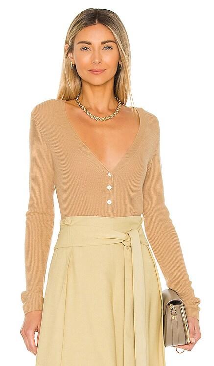 V Neck Henley Sweater Vince $325