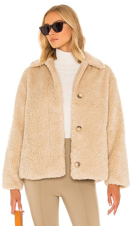 Textured Faux Fur Jacket Vince $495