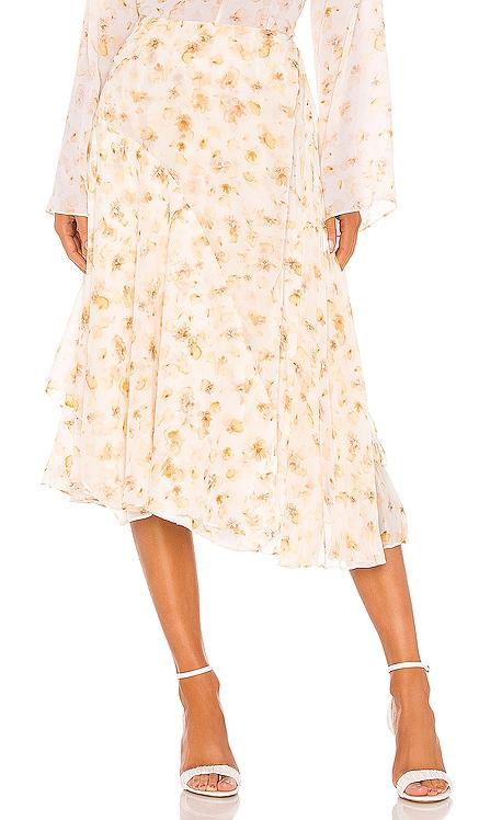 Pressed Petal Panel Skirt Vince $142