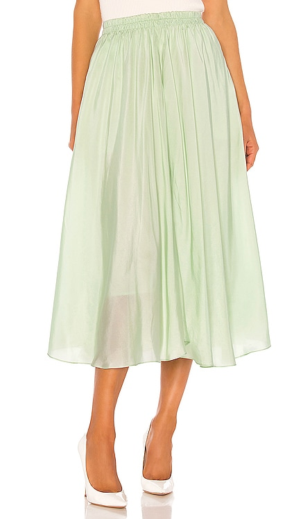 Gathered Pull On Skirt Vince $219