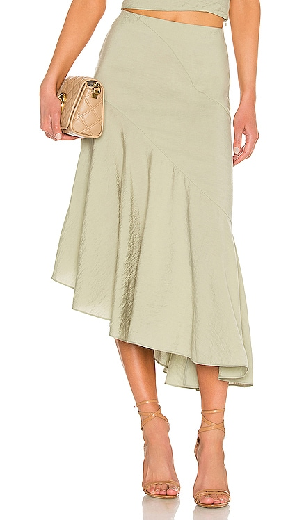 Side Button Tiered Skirt Vince $142