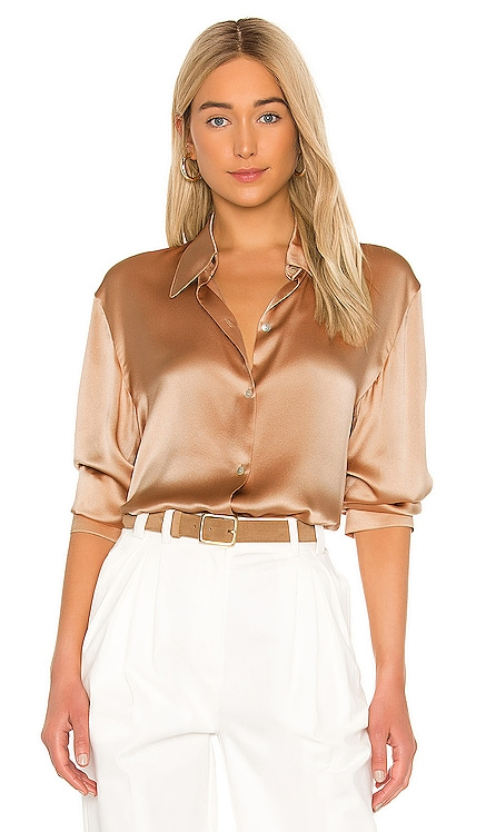 Shaped Collar Blouse Vince $345