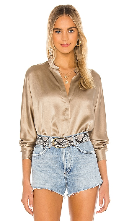 Band Collar Blouse Vince $320