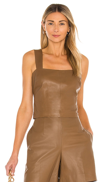 Leather Tank Vince $595