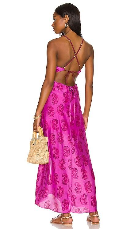 Cutout Long Dress Vix Swimwear $368 NEW