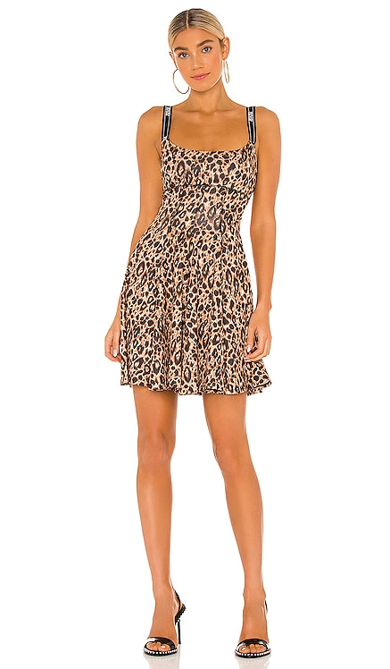 Leo Print Dress Versace Jeans Couture $475 NEW