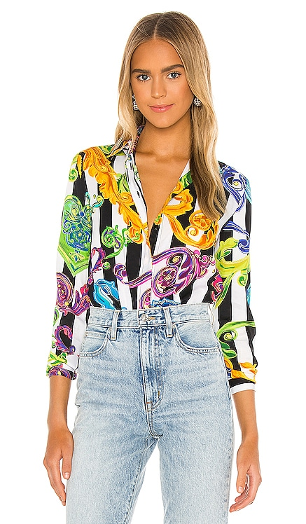 Lady Shirt Versace Jeans Couture $375 BEST SELLER