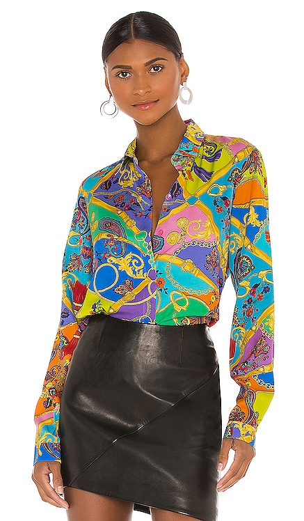 BLUSA PAISLEY Versace Jeans Couture $375