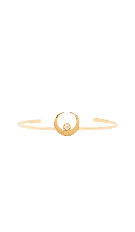 The Sadi Crescent Moon Cuff Vanessa Mooney $70