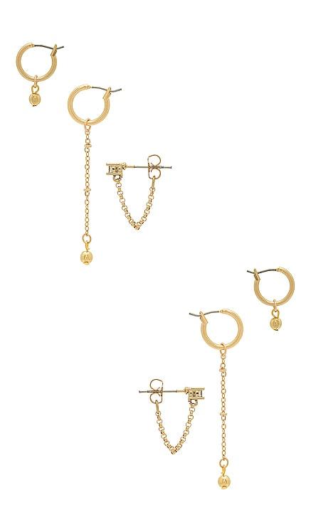 Kody Earring Set Vanessa Mooney $75