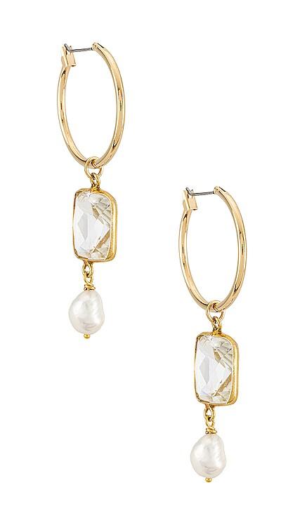The Celena Pearl Earrings Vanessa Mooney $62