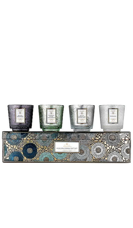 Pedestal Cool Tones Gift Set Voluspa $50 BEST SELLER