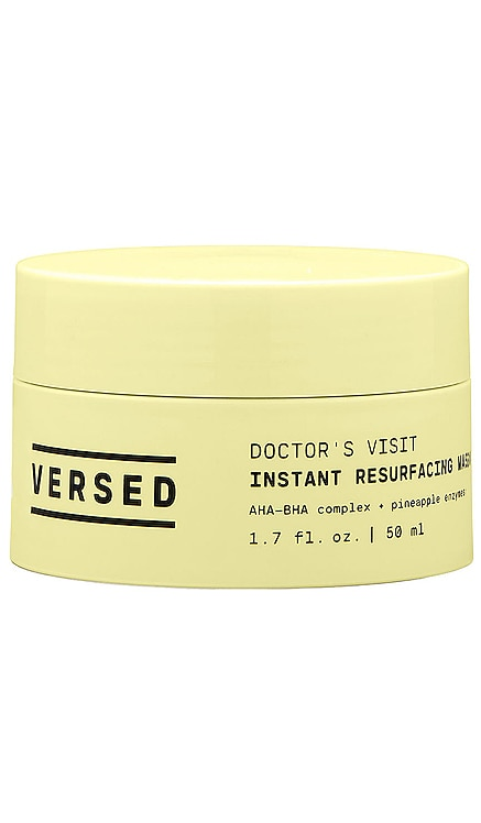 Doctor's Visit Instant Resurfacing Mask VERSED $18 NEW