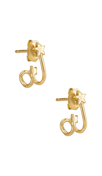In The Stars Huggie Earrings Wanderlust + Co $39