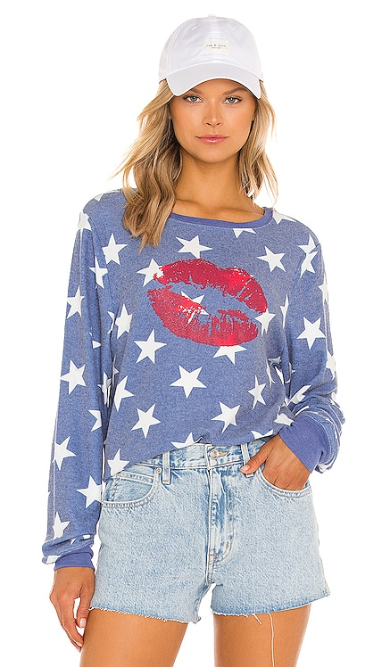 From America with Luv Sweatshirt Wildfox Couture $88