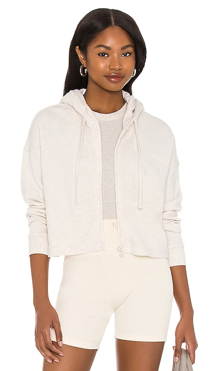 The Ecosoft Cropped Zip Up Hoodie WSLY $138 NEW