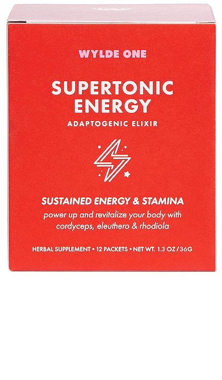 Supertonic Energy WYLDE ONE $35 NEW ARRIVAL