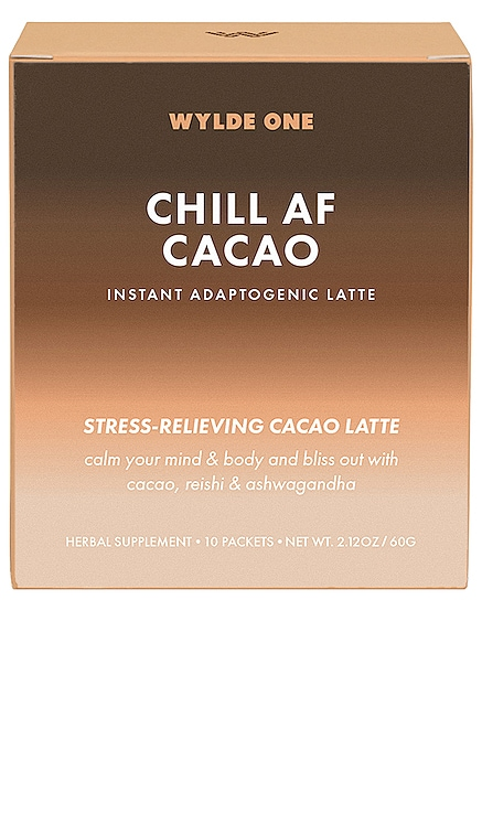 Chill AF Cacao WYLDE ONE $29 NEW ARRIVAL