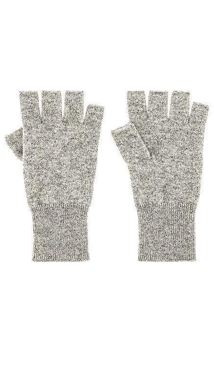 Cashmere Fingerless Glove White + Warren $75 NEW