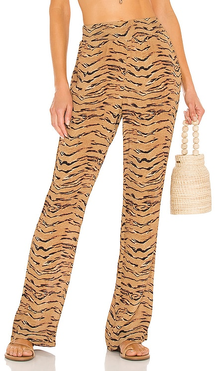 Smocked Flare Pant WeWoreWhat $145 NEW