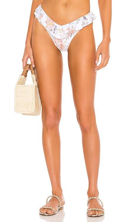 Ruffle Delilah Bikini Bottom WeWoreWhat $95 NEW
