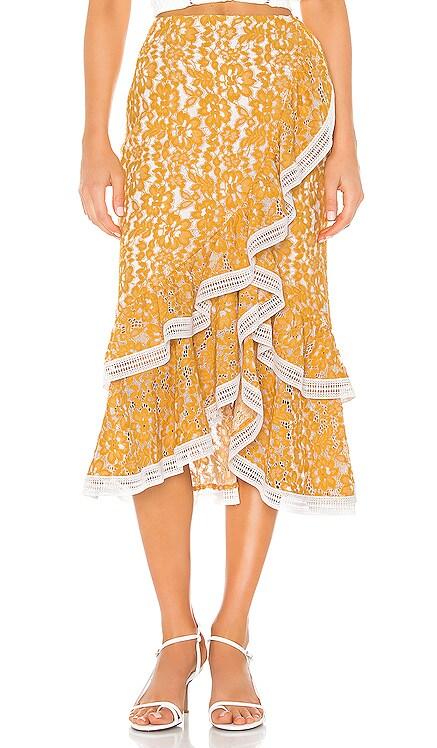 Bazzi Midi Skirt X by NBD $70 (FINAL SALE)