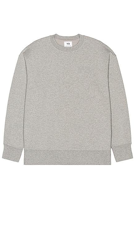 Classic Chest Logo Crew Sweatshirt Y-3 Yohji Yamamoto $190
