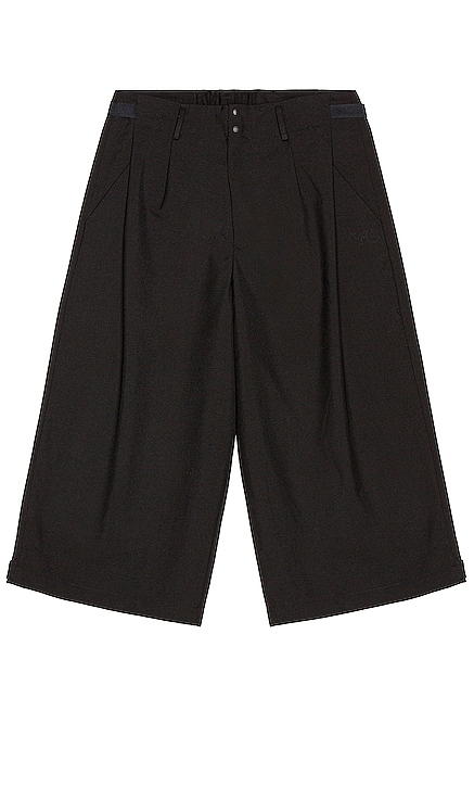 Winter Wool Cropped Wide Pants Y-3 Yohji Yamamoto $330