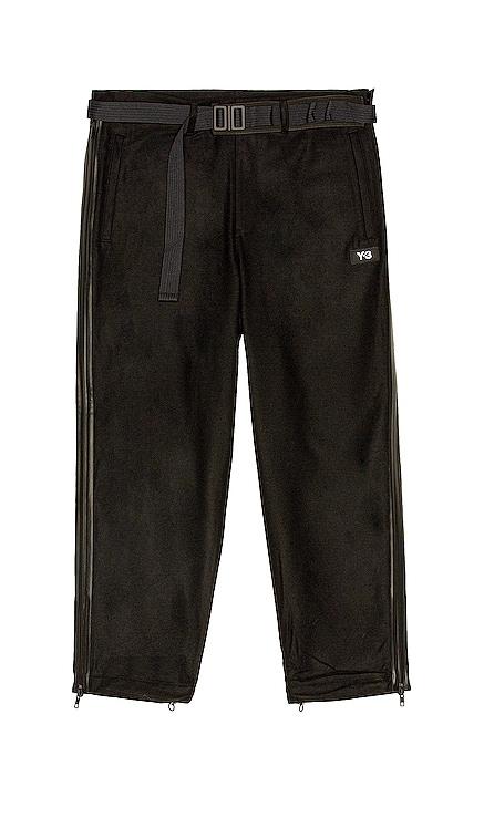 M Ch3 Wool Flannel Cropped Pants Y-3 Yohji Yamamoto $400