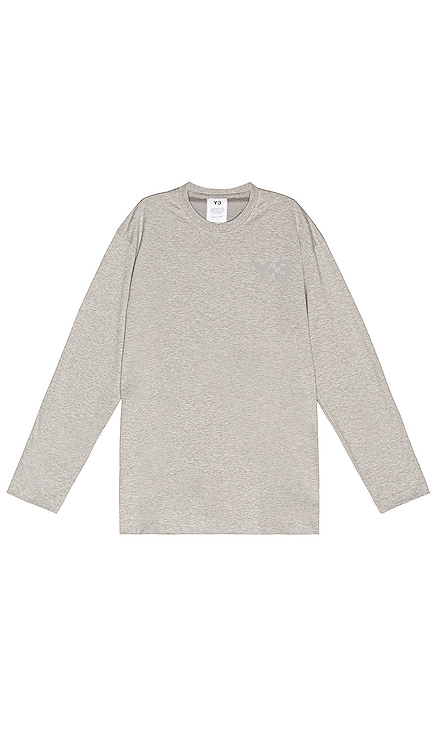 Chest Logo Long Sleeve Tee Y-3 Yohji Yamamoto $100 BEST SELLER